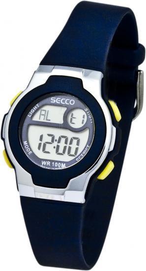 Dámské nebo dětské digitální hodinky - SECCO S DHA-108 887255d3d1c