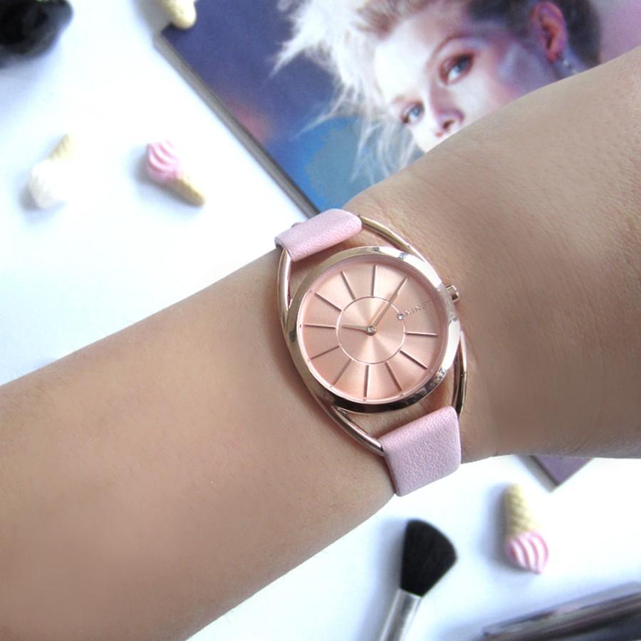 Růžové dámské hodinky Icon Forever After - MINET MWL5025 a6ddeb37b2
