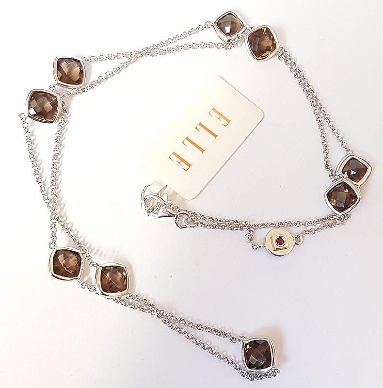 0af6cf87f Stříbrný náhrdelník - ELLE R0LADXCB4F-X0L5NB2