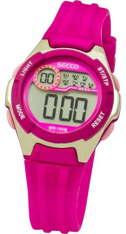 203df227f17 Dámské nebo dětské digitální hodinky - SECCO S DIN-003