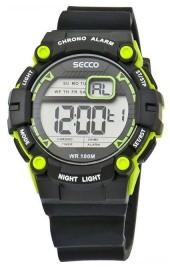 0522f2d6cf3 Pánské digitální hodinky. SECCO S DNS-005 · S DNS-005