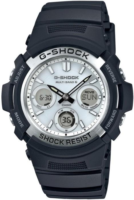 eec40110d13 ... Pánské rádiem řízené nárazuvzdorné hodinky G-SHOCK. AWG-M100S-7AER ...