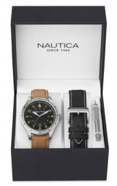 Pánské vodotěsné hodinky BFD 105 Box Set. NAUTICA NAD11018G f18fc6094dc