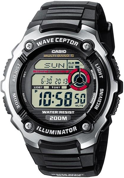 de67d69a134 ... Rádiem řízené hodinky CASIO RADIO-CONTROLLED. WV-200E-1AVEF ...